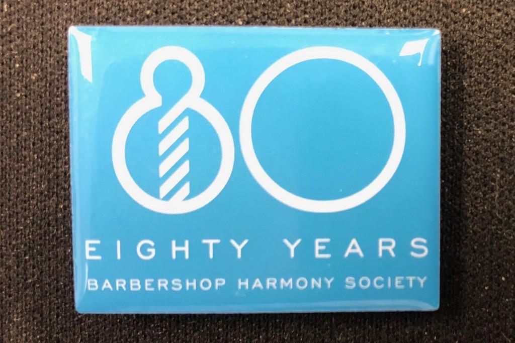 80th Anniversary Lapel Pin