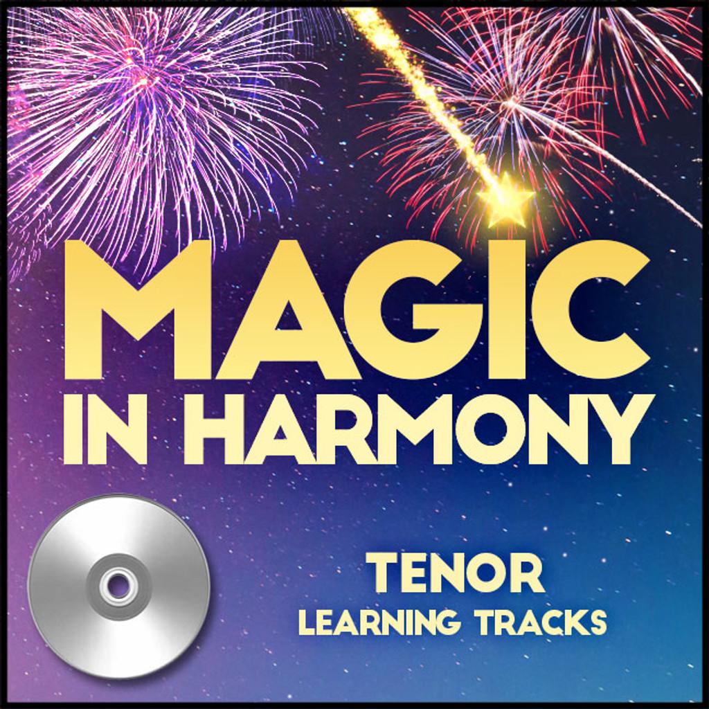 Magic in Harmony (Tenor) - CD Learning Tracks for 212660