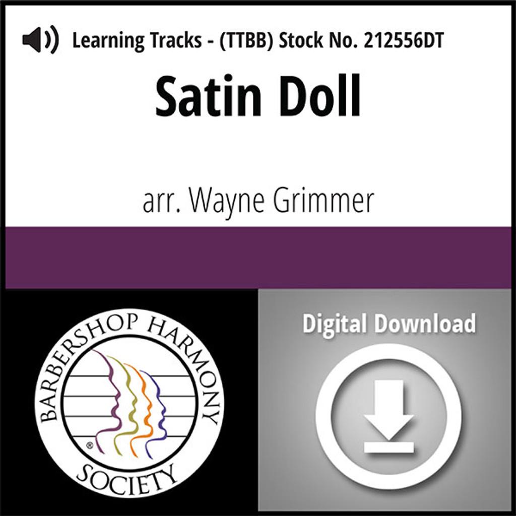 Satin Doll (TTBB) (arr. Grimmer) - Digital Learning Tracks - for 212555