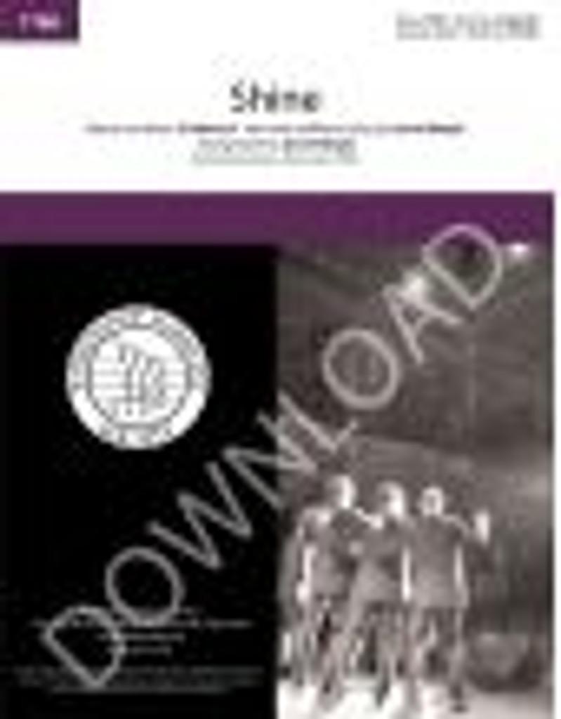 Shine (TTBB) (arr. Wright) - Download