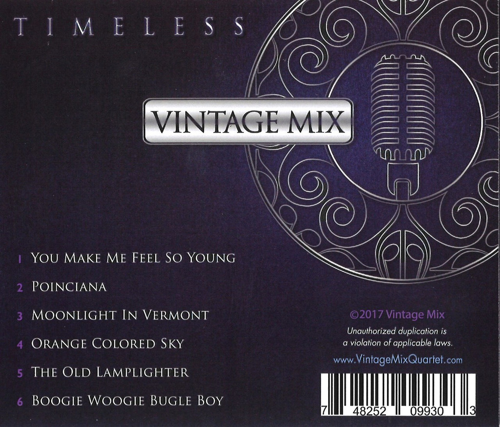 Vintage Mix - Timeless CD