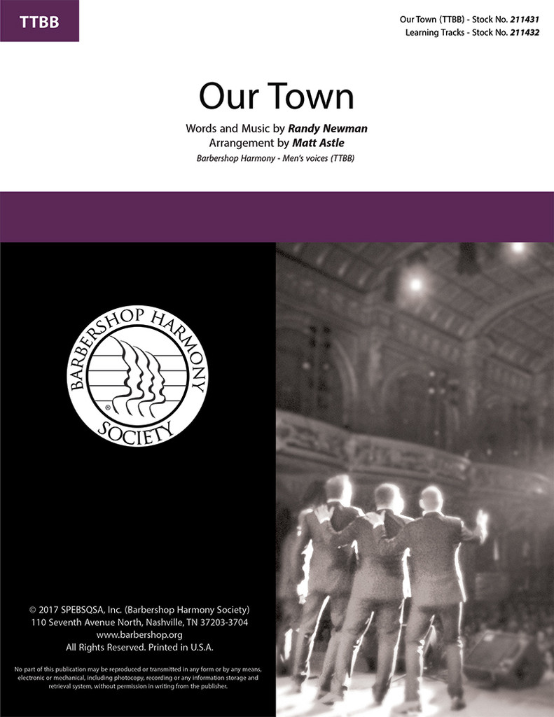 Our Town (TTBB) (arr. Astle)
