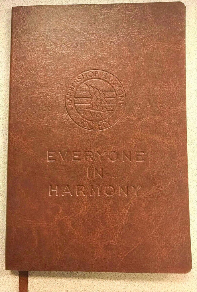 """Soft, flexible cover with built in elastic closure.  Ribbon page marker. Document pocket on interior back cover.  Includes 80 sheets of cream lined paper.  8.26"""" h x 5"""" w.  Exclusively available in the traditional brown color and made by JournalBooks."""