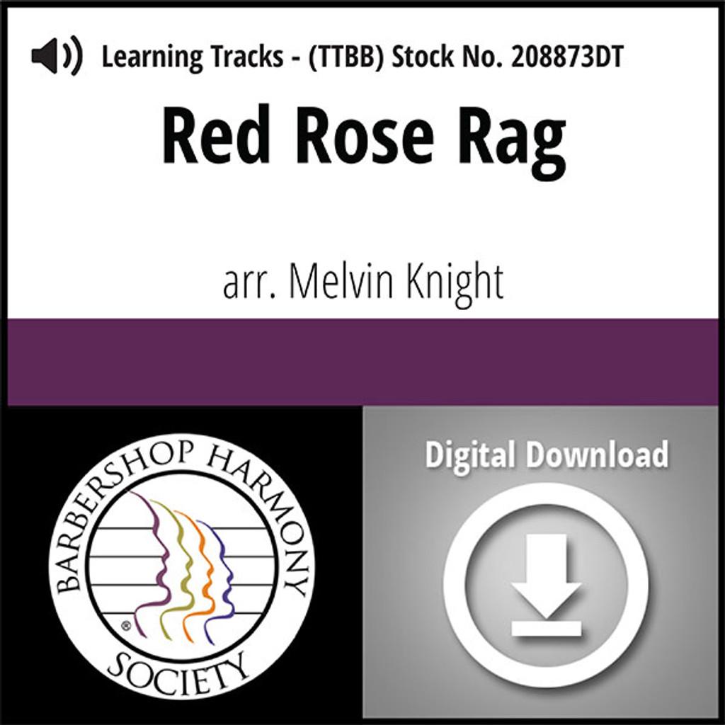 Red Rose Rag (TTBB) (arr. Knight) - Digital Learning Tracks for 206860