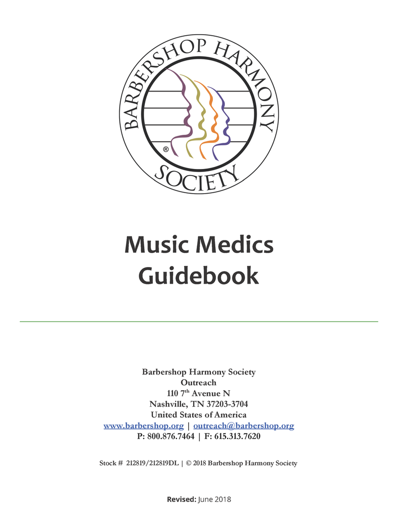 Music Medics Guidebook - Download