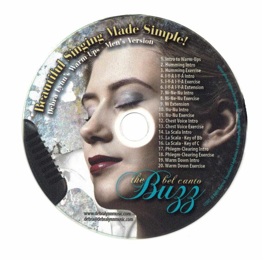 The Bel Canto Buzz - Men's Warm-ups (Digital Download)