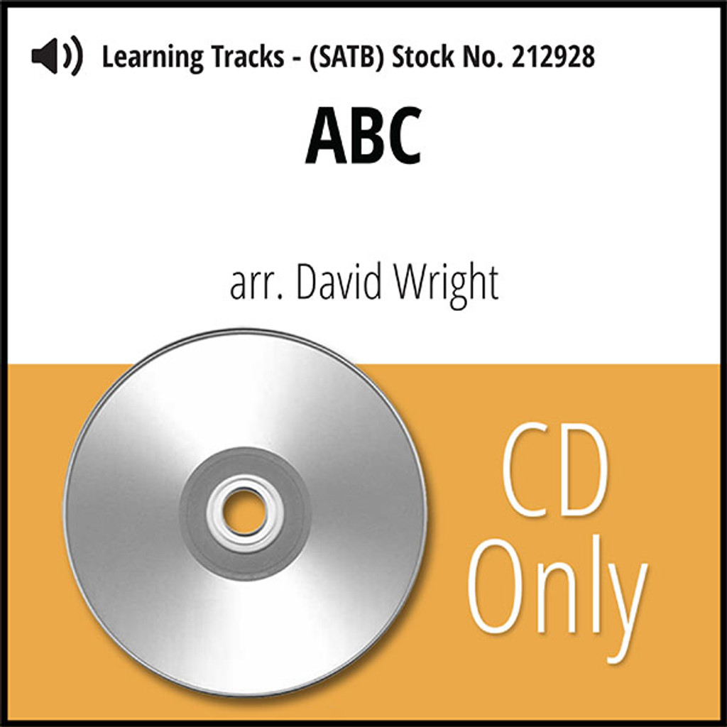 ABC (SATB) (arr. Wright) - CD Learning Tracks for 212927