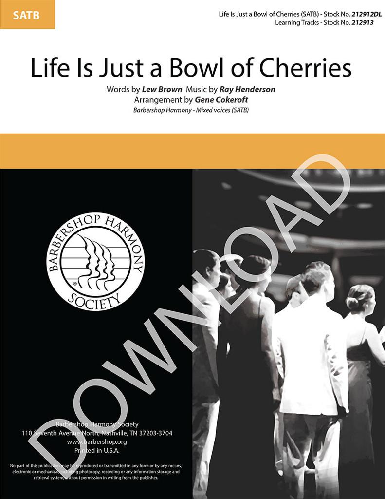 Life Is Just a Bowl of Cherries (SATB) (arr. Cokeroft) - Download