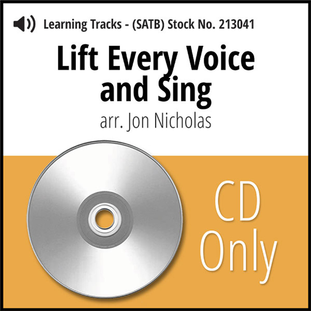 Lift Every Voice and Sing (8-part M/W) (arr. Nicholas) - CD Learning Tracks for 213040