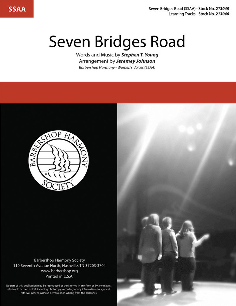 Seven Bridges Road (SSAA) (arr. Johnson)