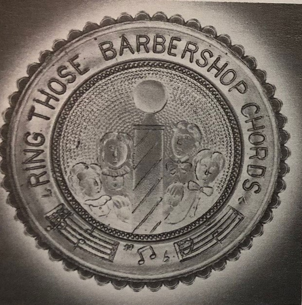 Cup Plate - Ring Those Barbershop Chords