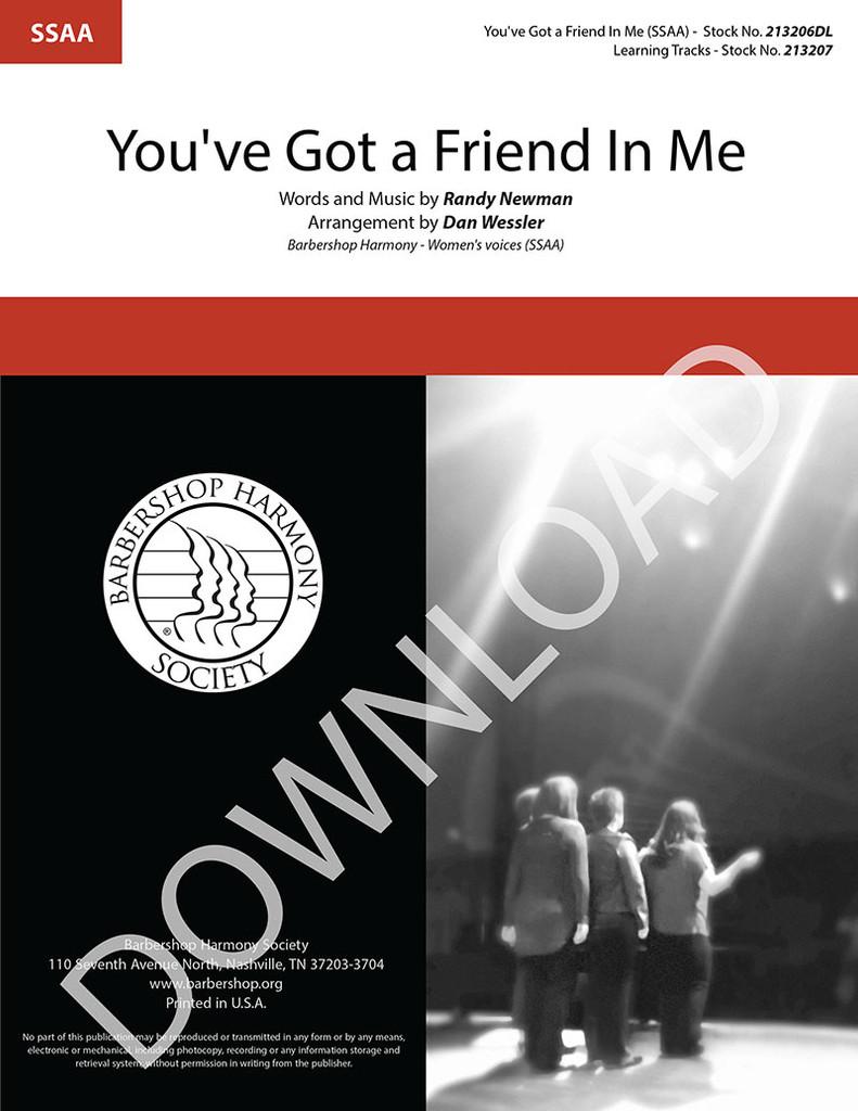 You've Got a Friend in Me (SSAA) (arr. Wessler) - Download