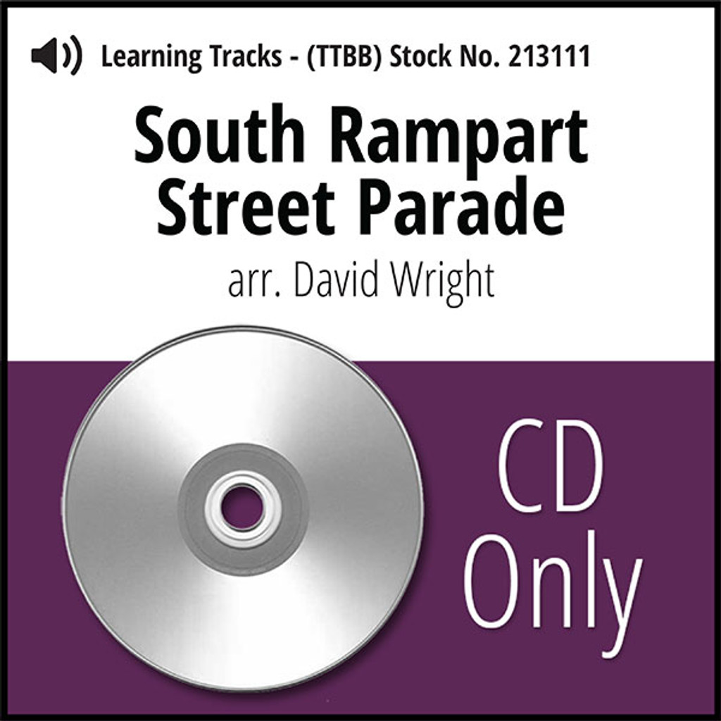 South Rampart Street Parade (TTBB) (arr. Wright) - CD Learning Tracks for 213110