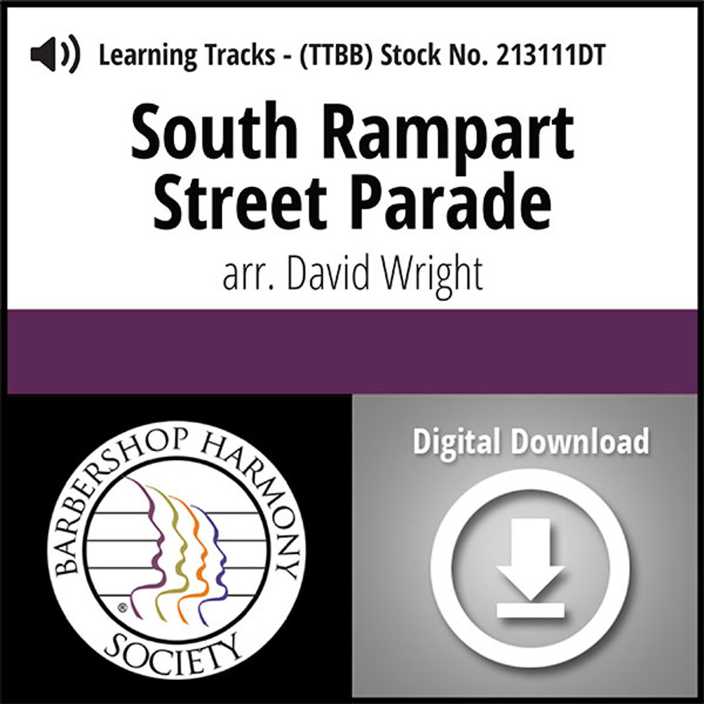 South Rampart Street Parade (TTBB) (arr. Wright) - Digital Tracks for 213110