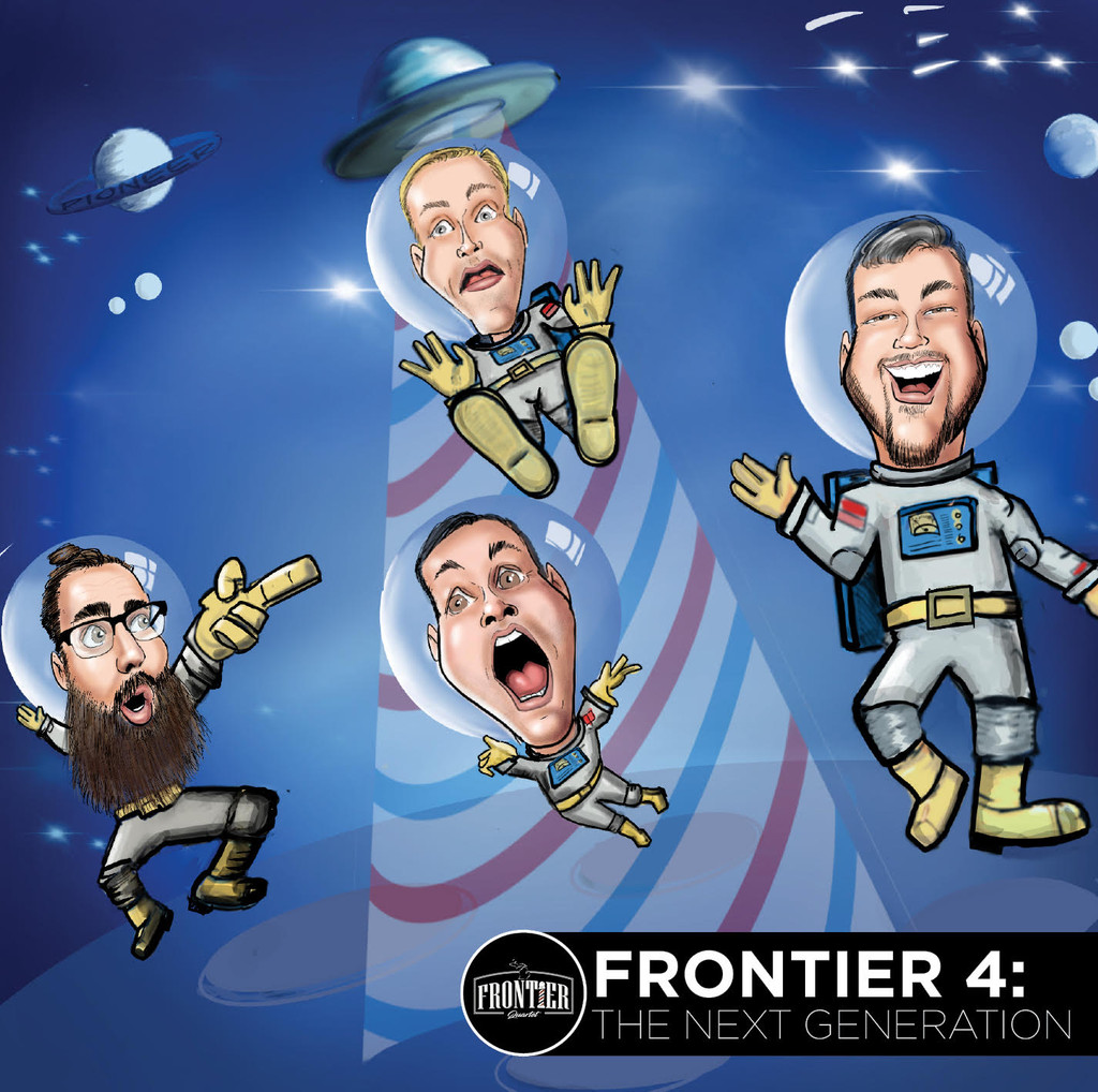 Frontier 4: The Next Generation CD