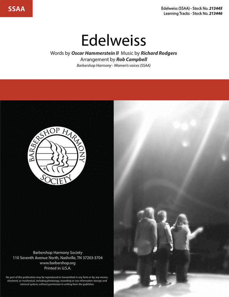 Edelweiss (SSAA) (arr. Campbell)