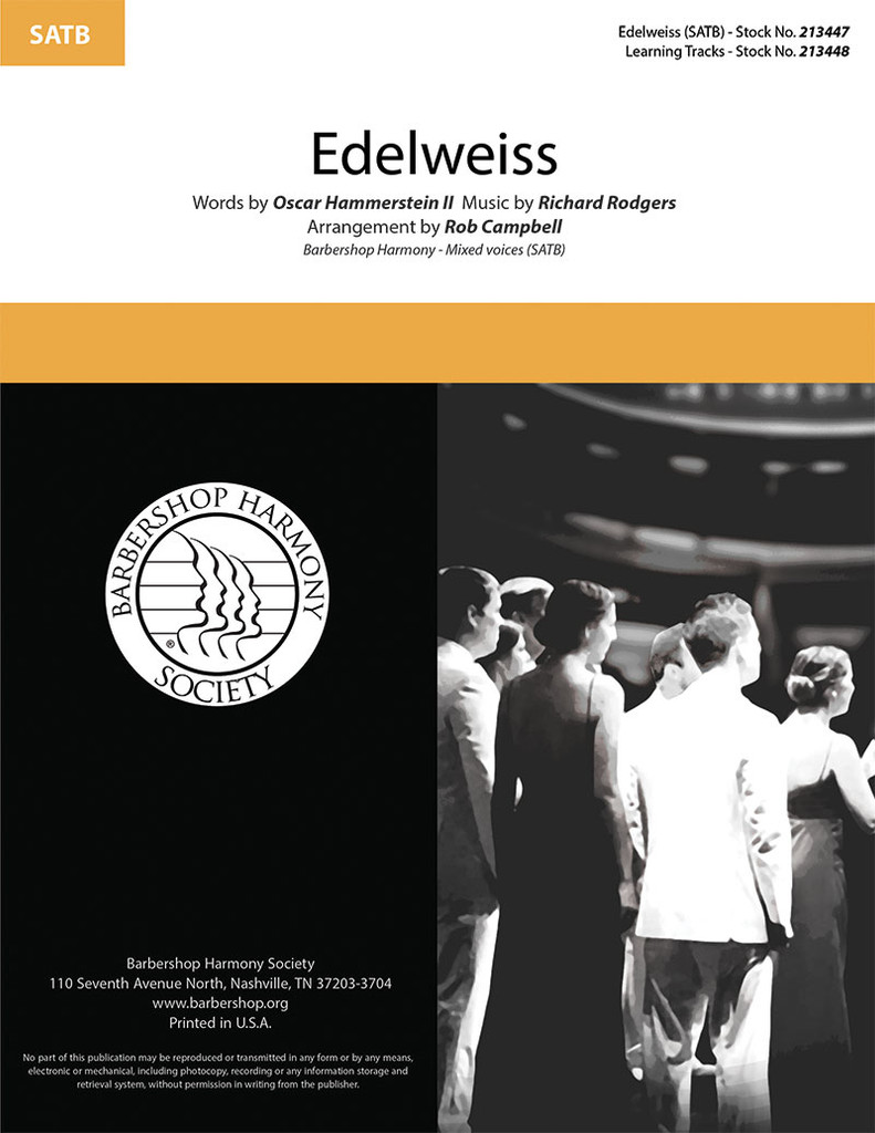 Edelweiss (SATB) (arr. Campbell)