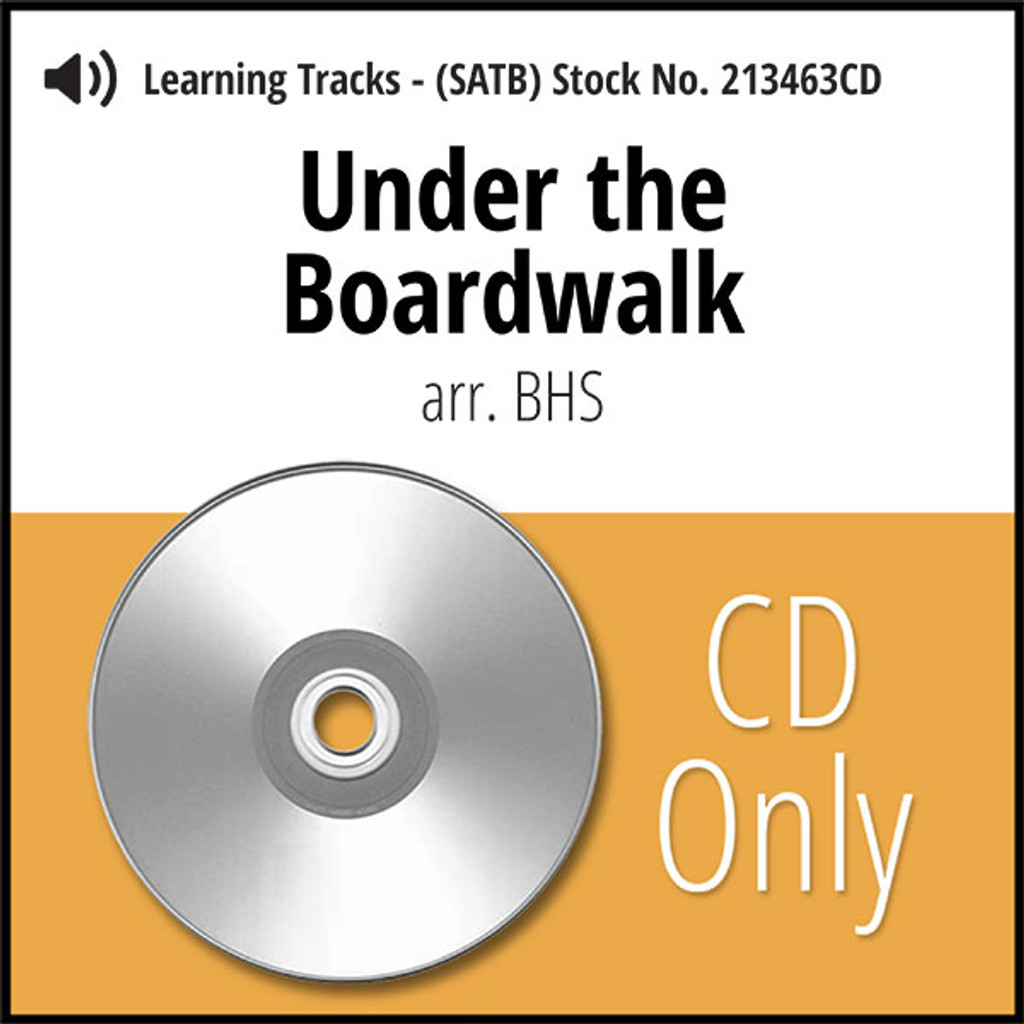 Under the Boardwalk (SATB) (arr. BHS) - CD Learning Tracks for 213462