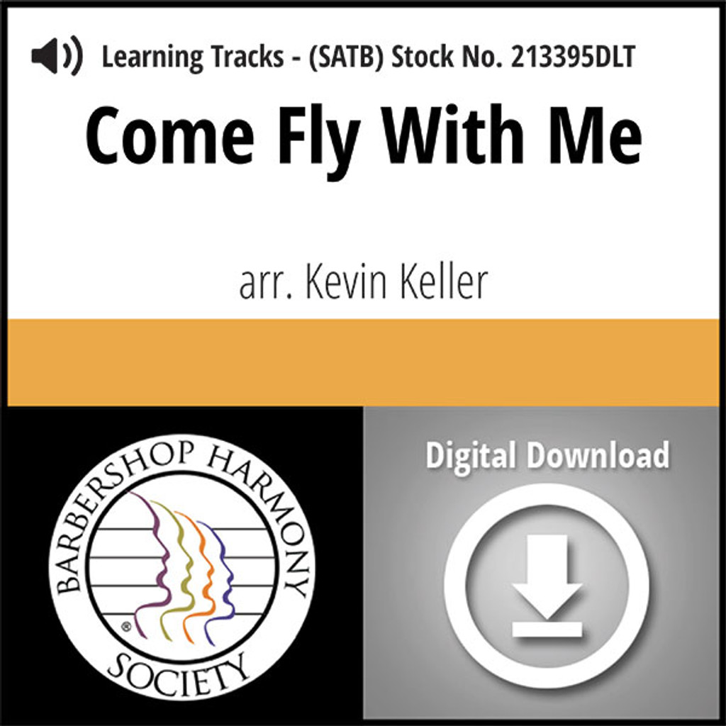 Come Fly With Me (SATB) (arr. Keller) - Digital Tracks for 213394