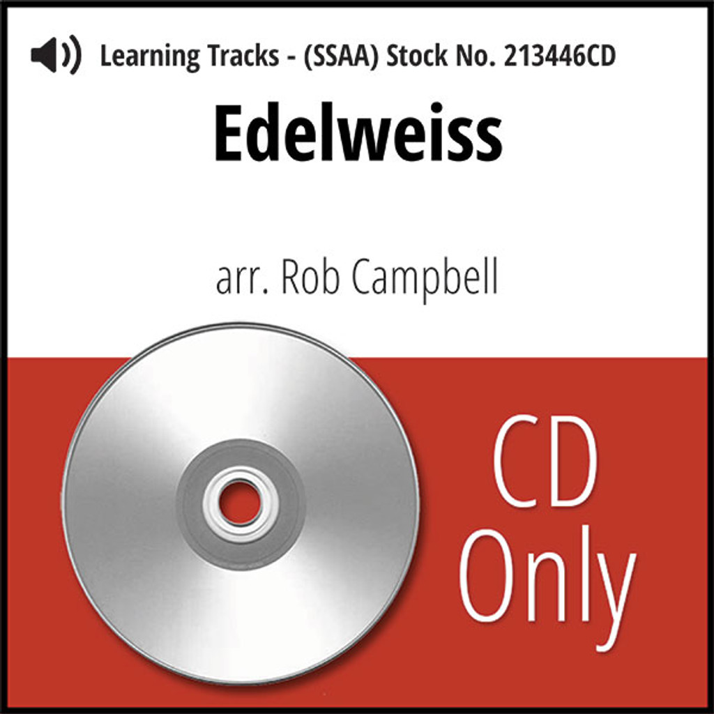 Edelweiss (SSAA) (arr. Campbell) - CD Learning Tracks for 213445