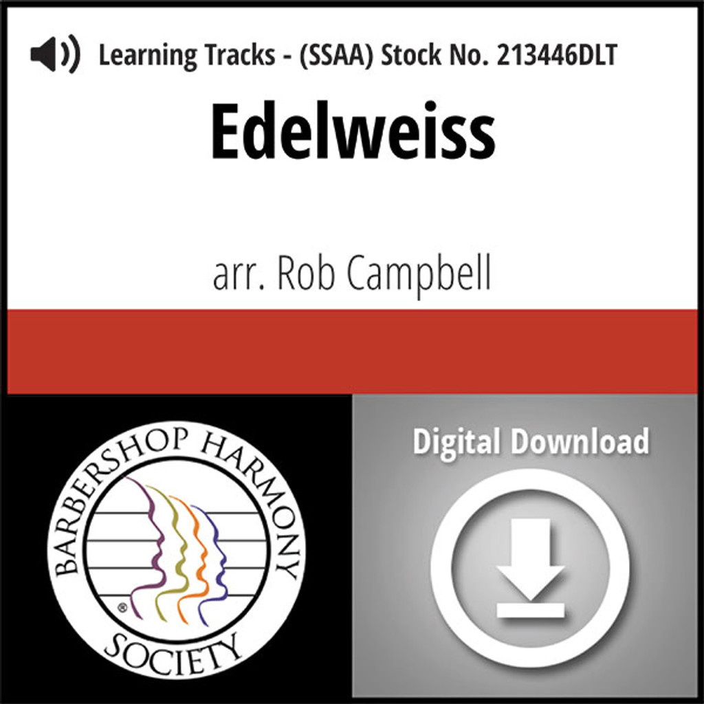 Edelweiss (SSAA) (arr. Campbell) - Digital Tracks for 213445