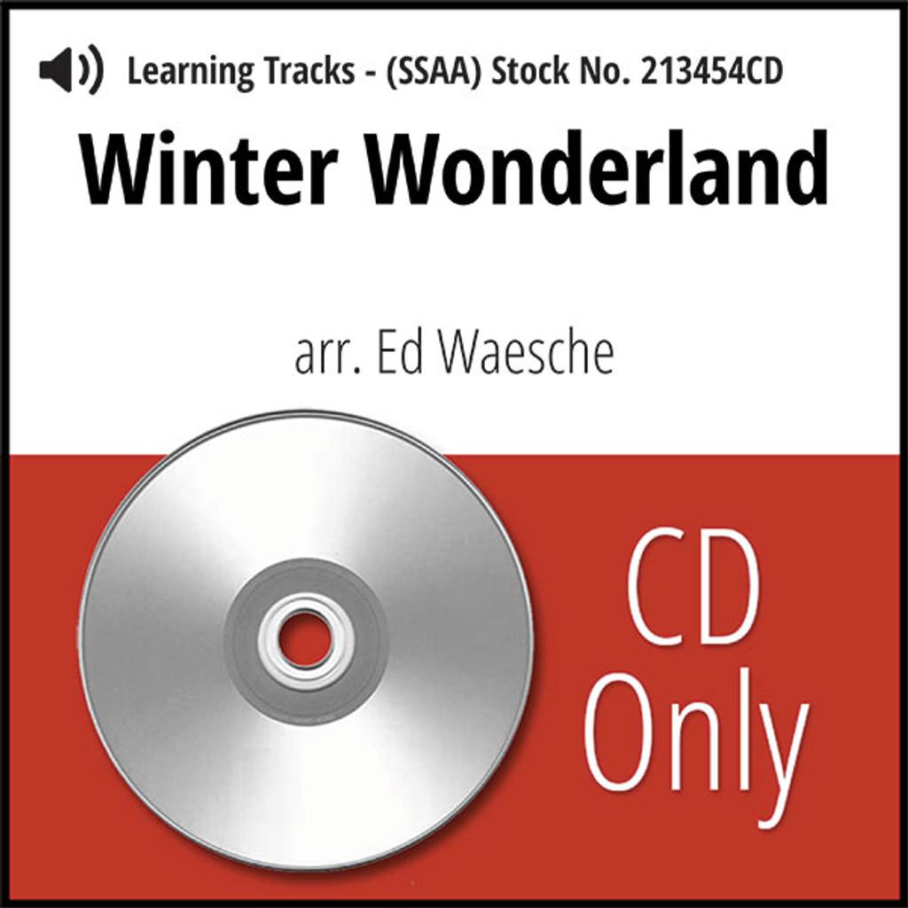 Winter Wonderland (SSAA) (arr. Waesche) - CD Learning Tracks for 213453