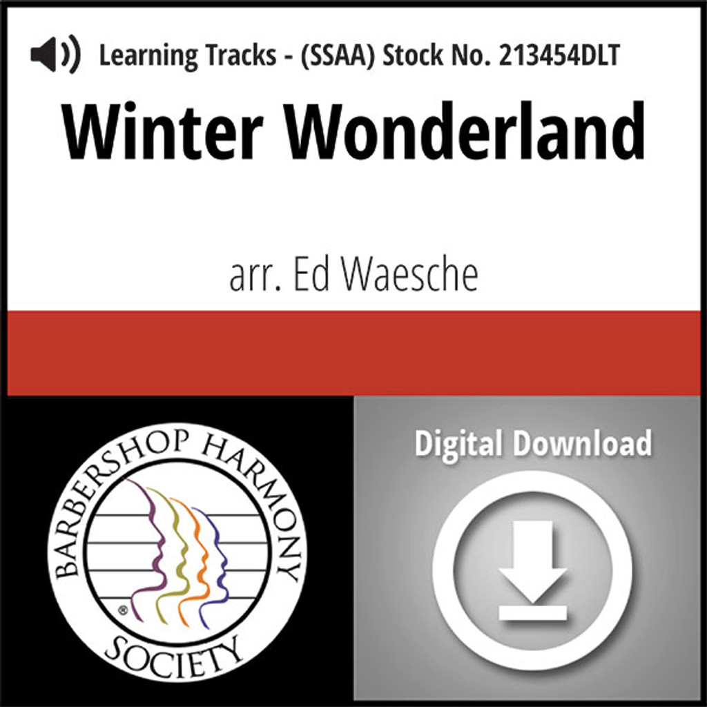 Winter Wonderland (SSAA) (arr. Waesche) - Digital Learning Tracks for 213453