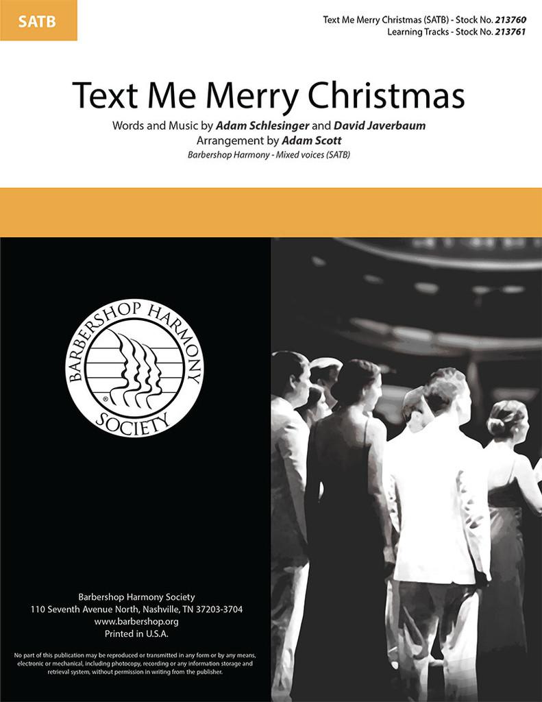 Text Me Merry Christmas (SATB) (arr. Scott)