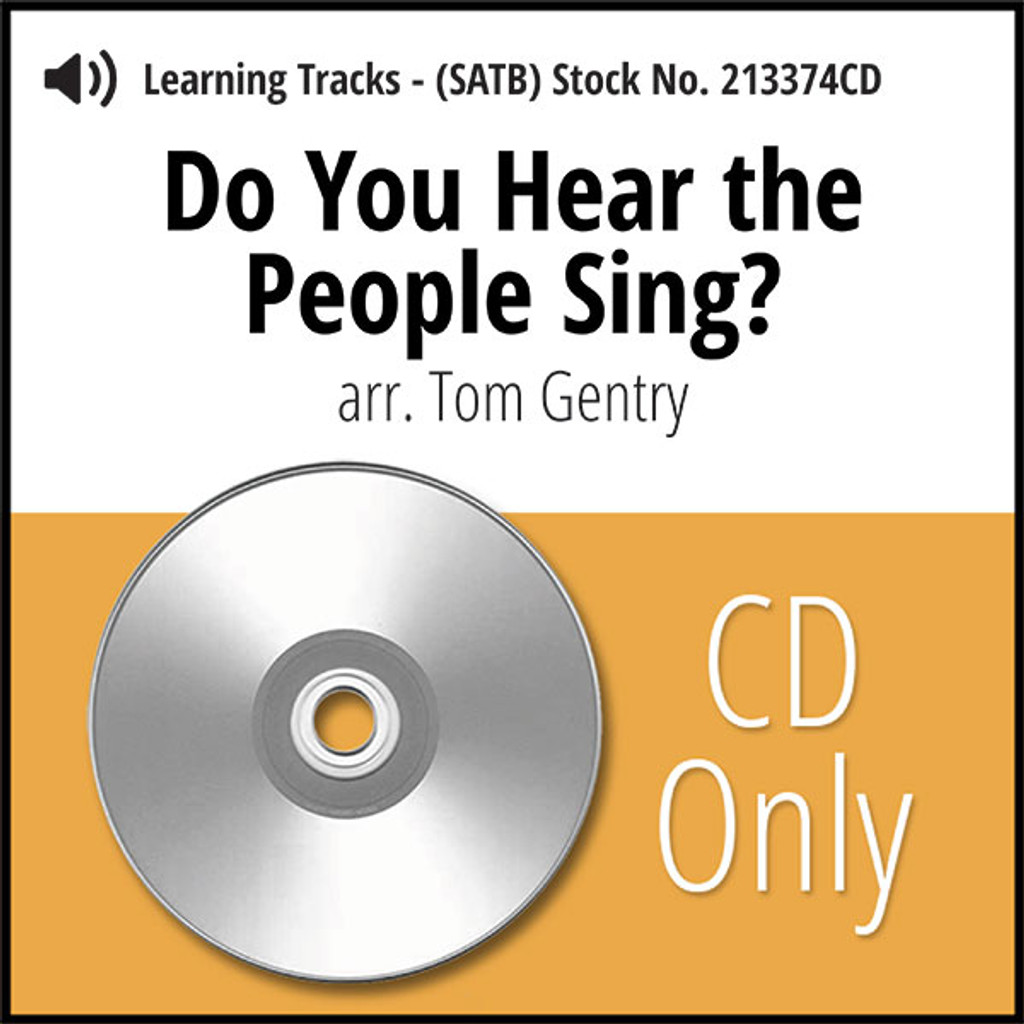 Do You Hear the People Sing? (SATB) (arr. Gentry) - CD Learning Tracks for 213373