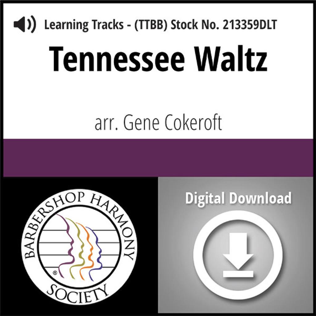 Tennessee Waltz (TTBB) (arr. Cokeroft) - Digital Learning Tracks for 213358