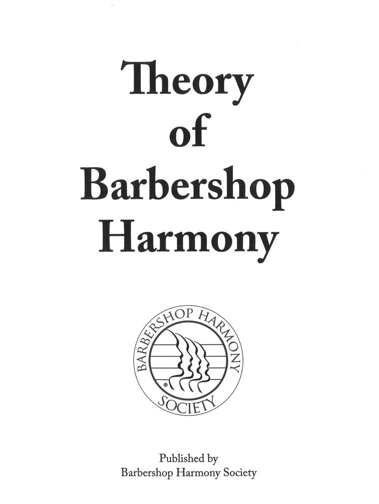 Theory of Barbershop Harmony - Download