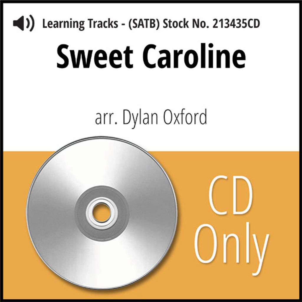 Sweet Caroline (SATB) (arr. Oxford & A Mighty Wind) - CD Learning Tracks for 213434