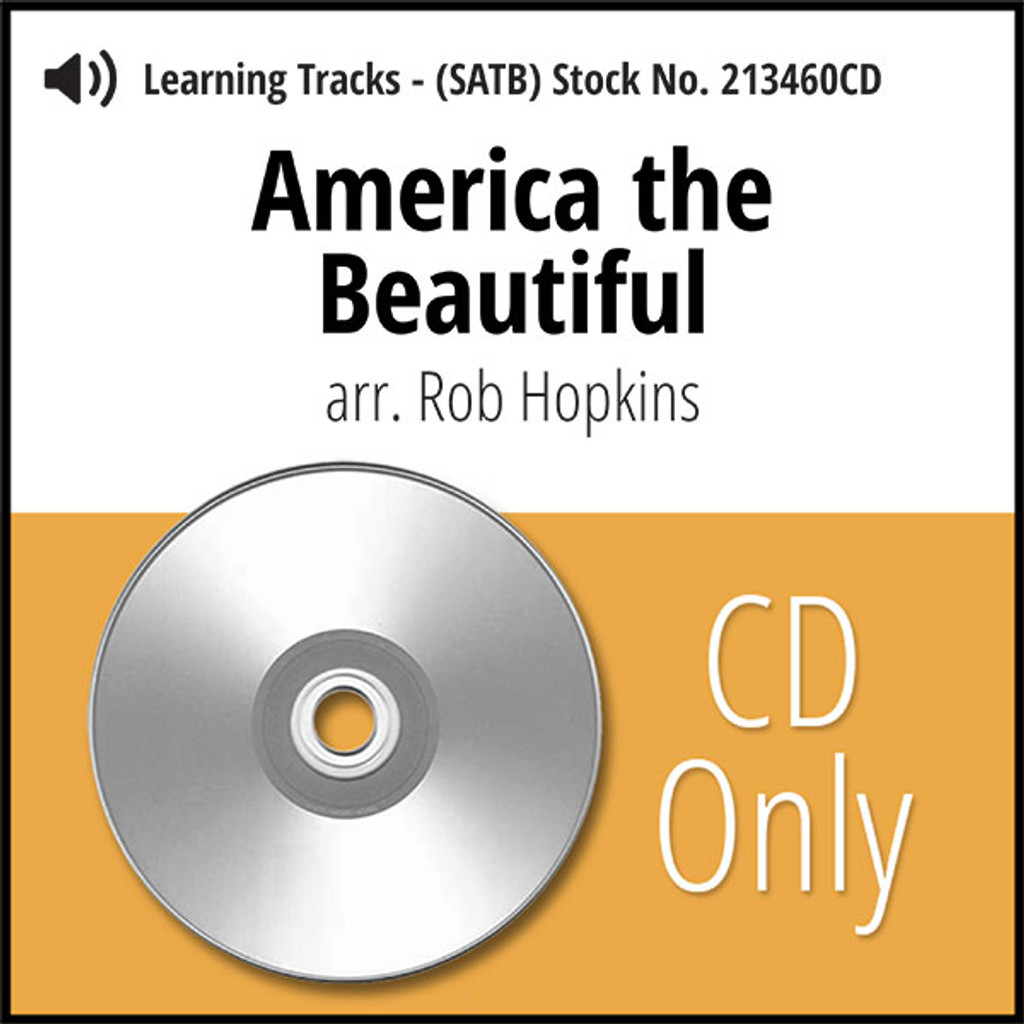 America the Beautiful (SATB) (arr. Hopkins) - CD Learning Tracks for 213459