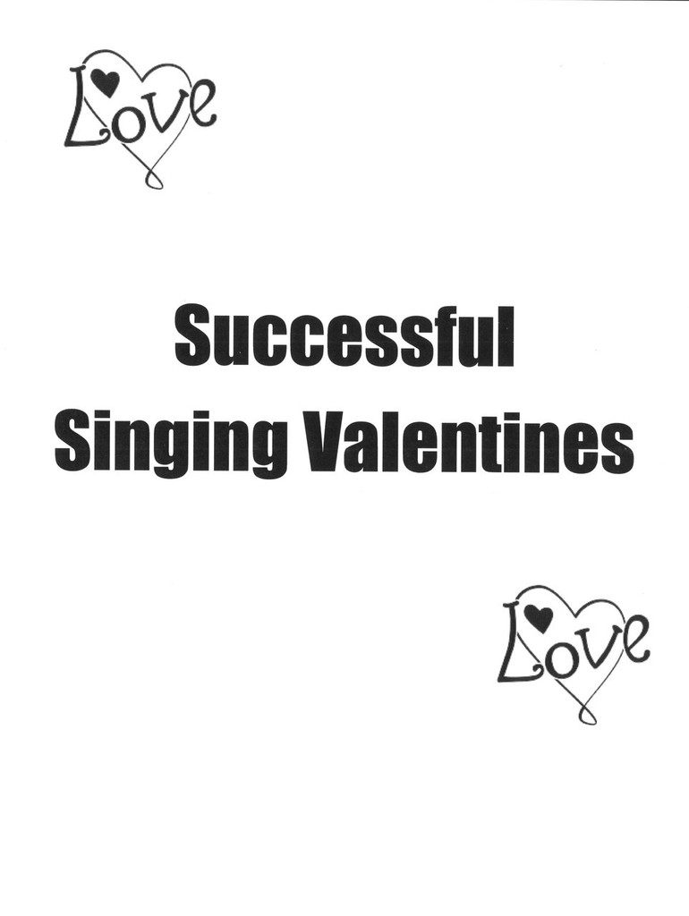 Successful Singing Valentines Manual - Dollar Download