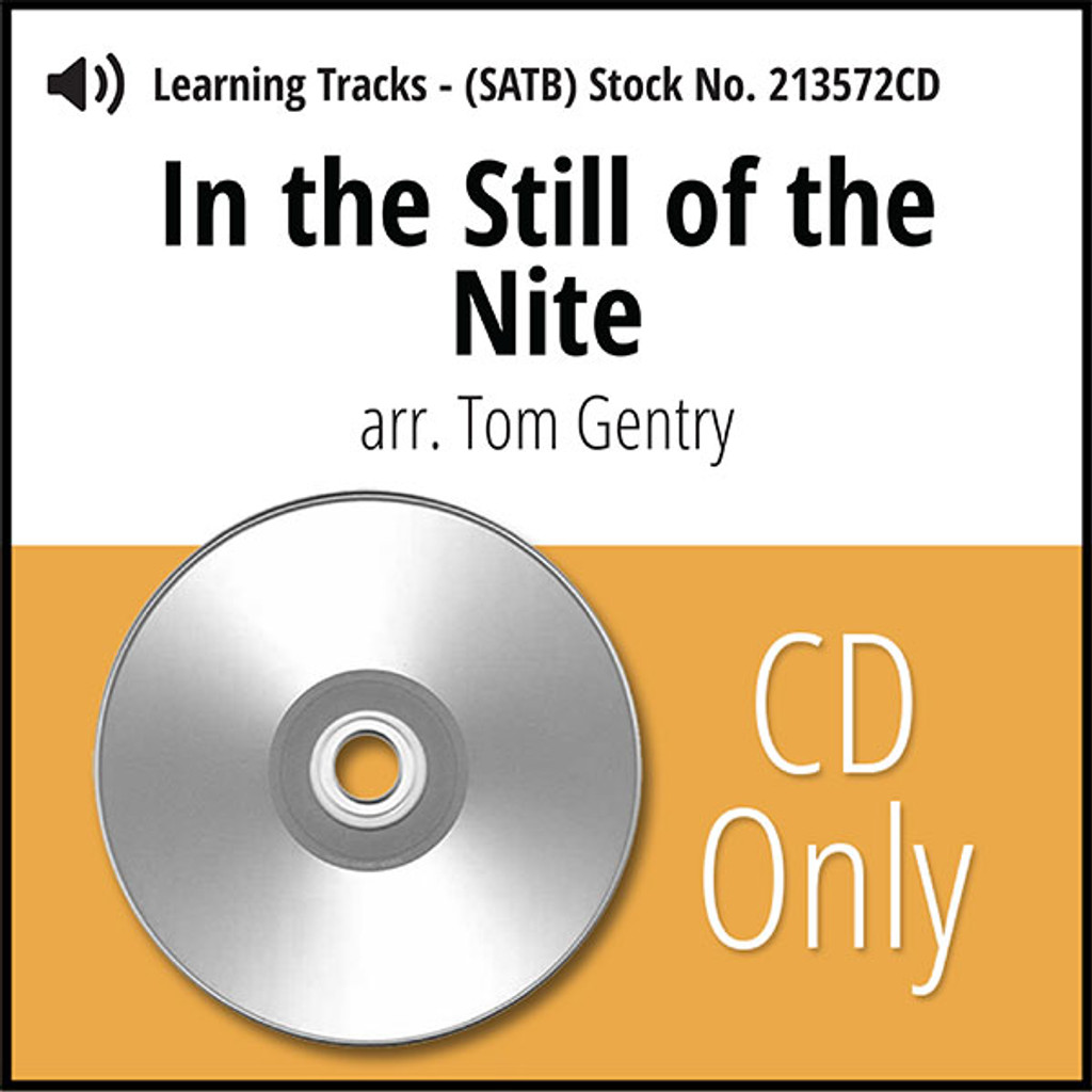 In the Still of the Nite (SATB) (arr. Gentry) - CD Learning Tracks for 213571