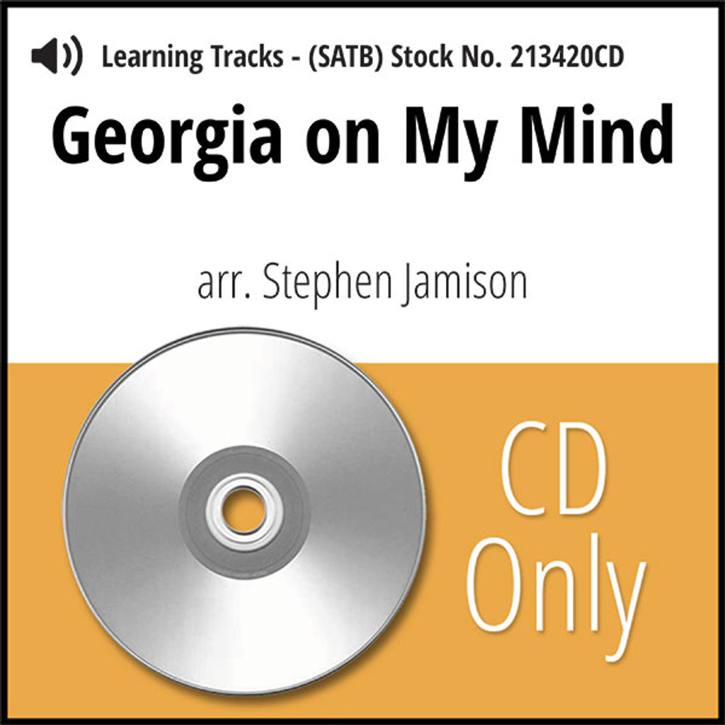 Georgia on My Mind (SATB) (arr. Jamison) - CD Learning Tracks for 213419