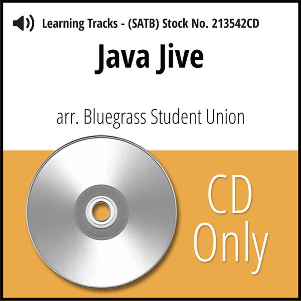Java Jive (SATB) (arr. Bluegrass Student Union) - CD Learning Tracks for 213541