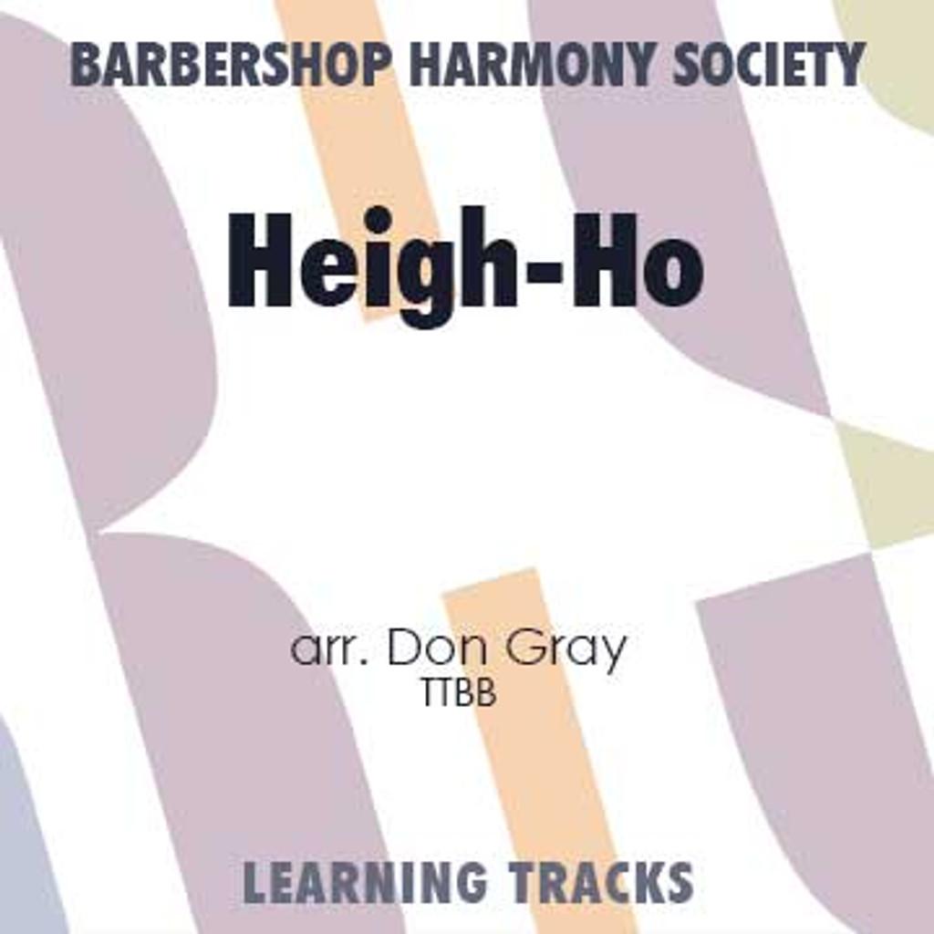 Heigh-Ho (TTBB) (arr. Gray) - Digital Learning Tracks for 7673