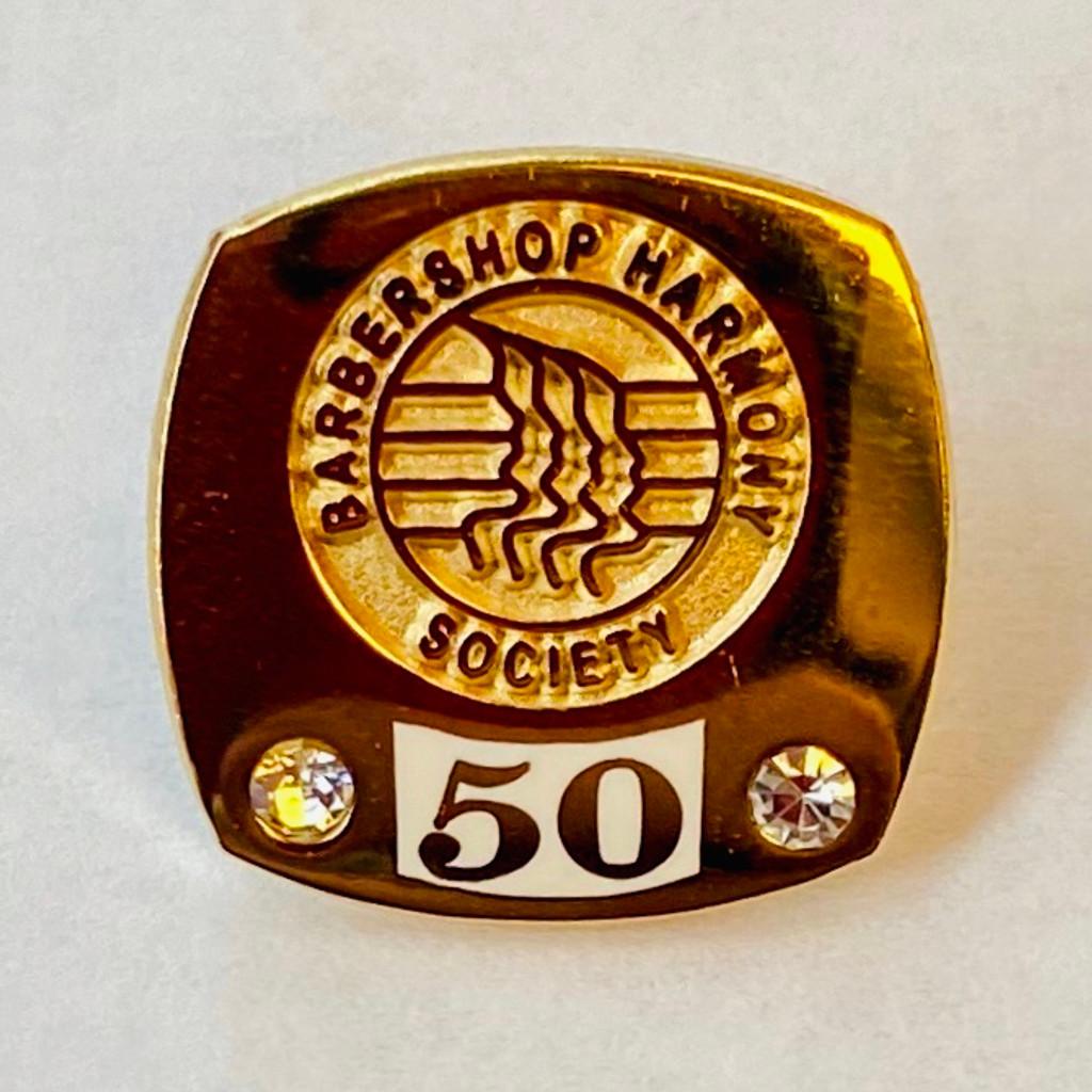 Membership Anniversary Lapel Pins (50-75 Years)