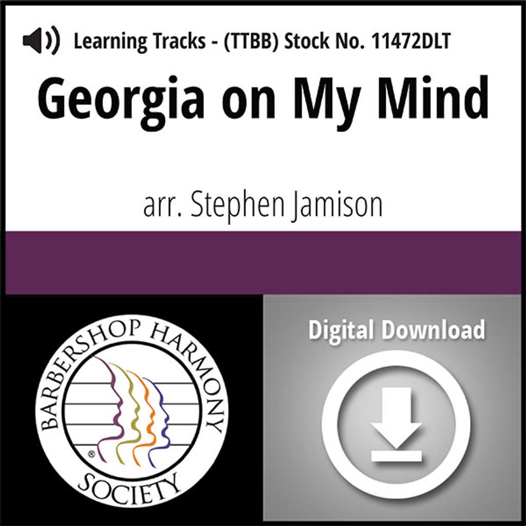 Georgia On My Mind (TTBB) (arr. Jamison) - Digital Learning Tracks for 7322