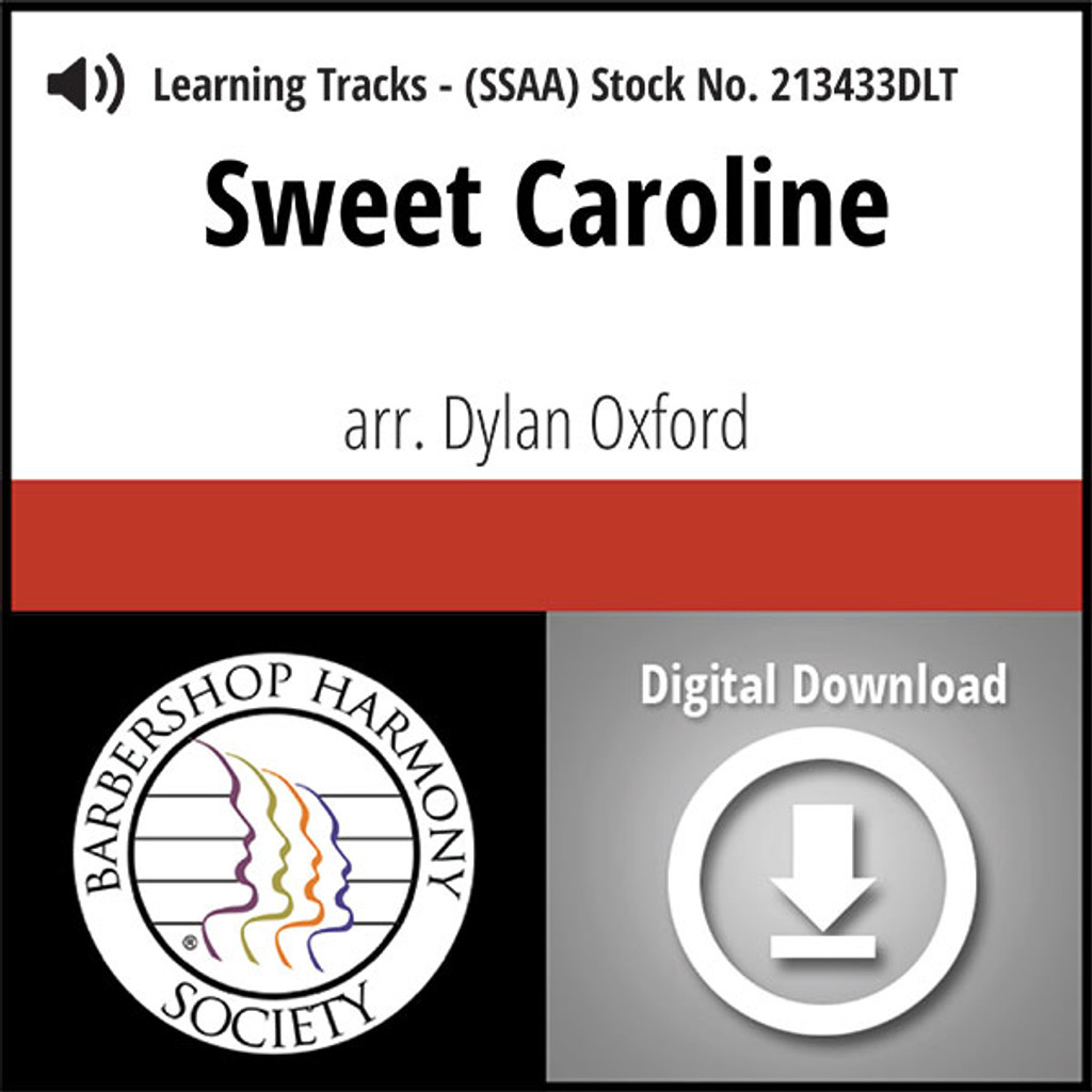 Sweet Caroline (SSAA) (arr. Oxford & A Mighty Wind) - Digital Tracks for 213432