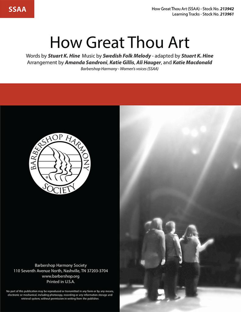 How Great Thou Art (SSAA) (arr. Sandroni, Gillis, Hauger, Macdonald)