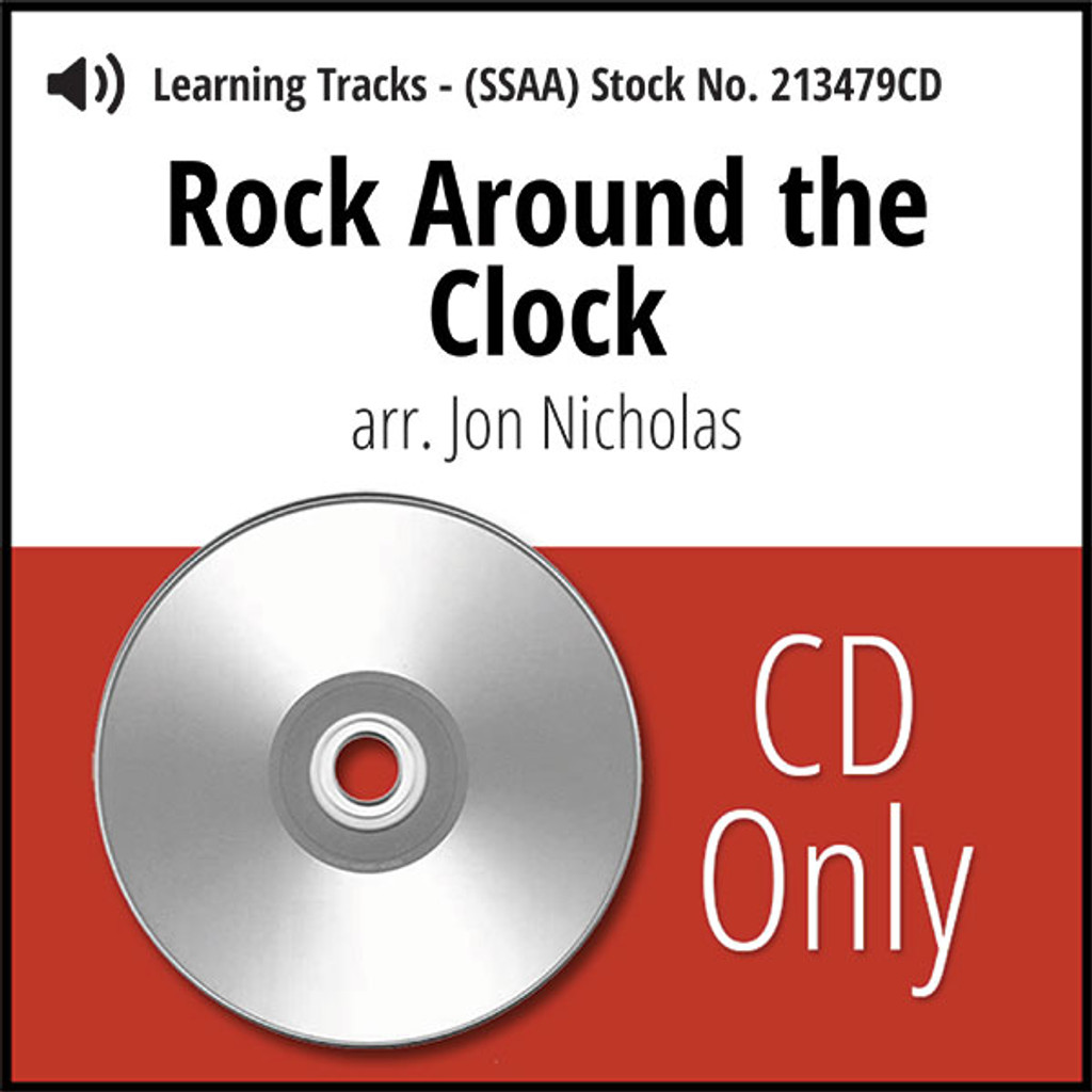 Rock Around the Clock (SSAA) (arr. Nicholas) - CD Learning Tracks for 213478