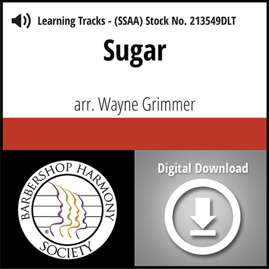 Sugar (SSAA) (arr. Grimmer) - Digital Learning Tracks  for 213548
