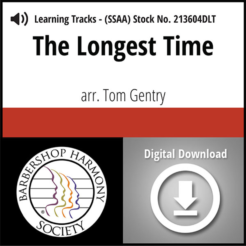 The Longest Time (SSAA) (arr. Gentry) - Digital Learning Tracks  for 213603