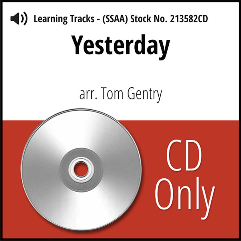 Yesterday (SSAA) (arr. Gentry) - CD Learning Tracks for 213581