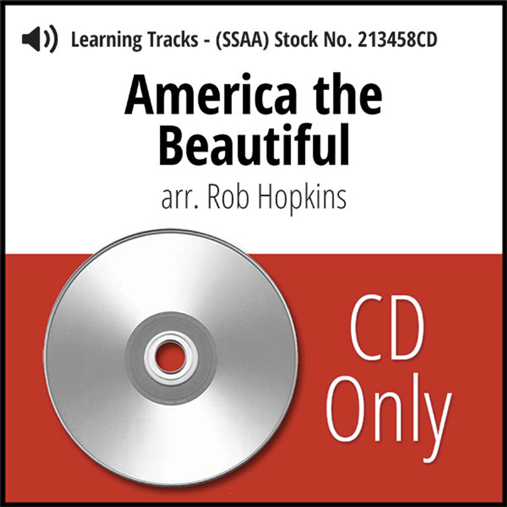 America the Beautiful (SSAA) (arr. Hopkins) - CD Learning Tracks for 213457