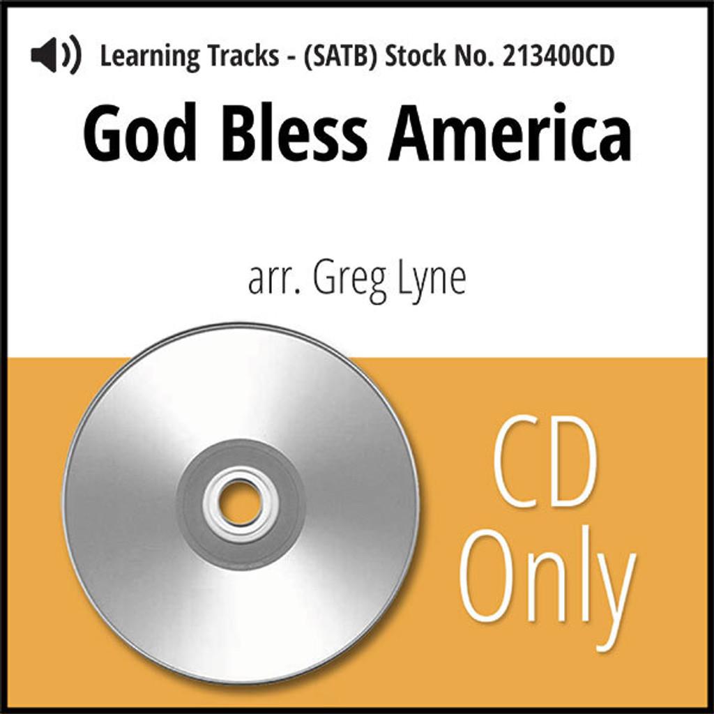 God Bless America (SATB) (arr. Lyne) - CD Learning Tracks for 213399