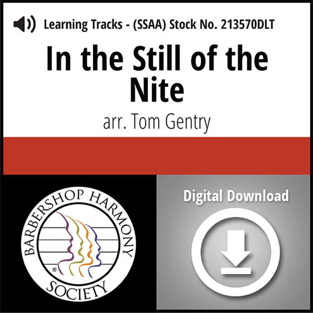 In the Still of the Nite (SSAA) (arr. Gentry) - Digital Learning Tracks for 213569