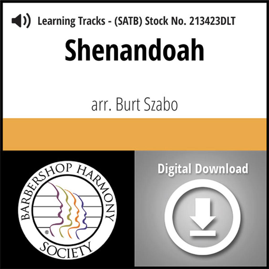 Shenandoah (SATB) (arr. Szabo) - Digital Learning Tracks for 213422